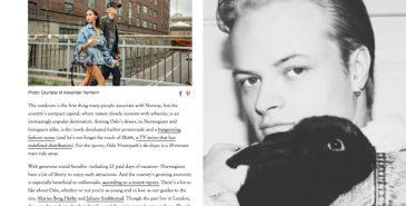 1a6146b1 Marius Borg Høiby og Juliane Snekkestad guider Vogue til Oslo