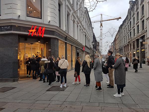 Moschino H&M Oslo