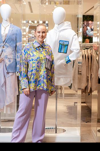 Edda Gimnes har re-designet for H&M