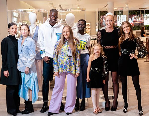 Cathrine Børter, Edda Gimnes og Marte Krogh har re-designet for H&M.