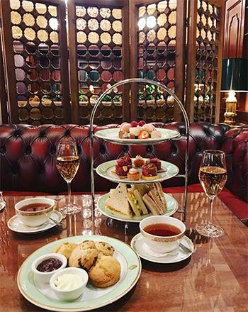 Afternoon tea på Hotel Bristol