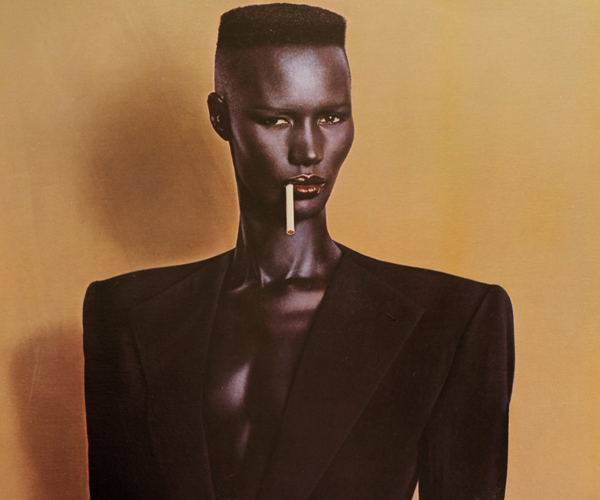 Grace Jones power suit