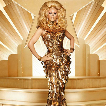Drag queen RuPaul