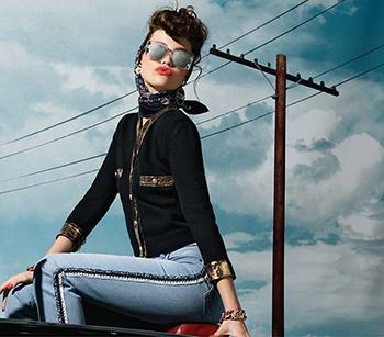 Chanel eyewear campaign 2018/2019