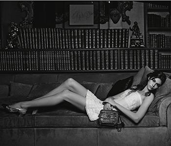 Chanel handbag campaign