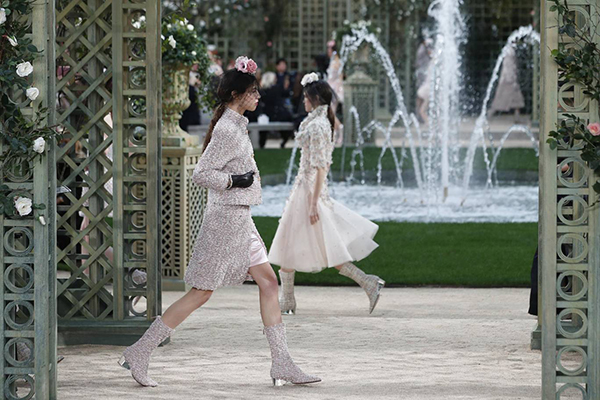 Chanel haute couture SS18