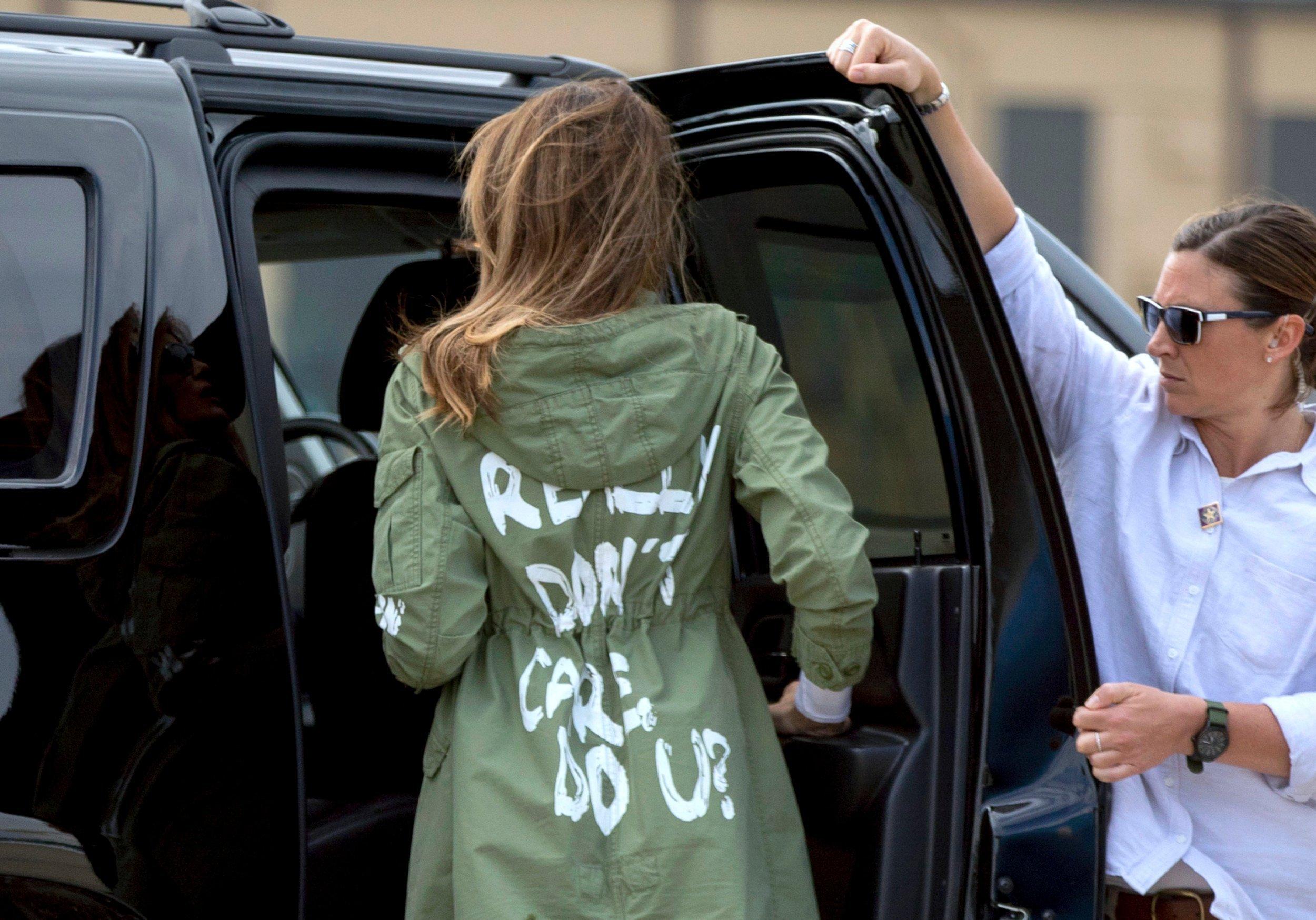 Melania Trump I really dont't care. Do you?
