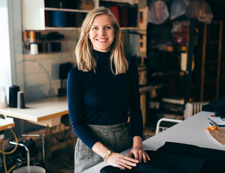 Elisabeth Stray Pedersen lager norsk mote i Oslo