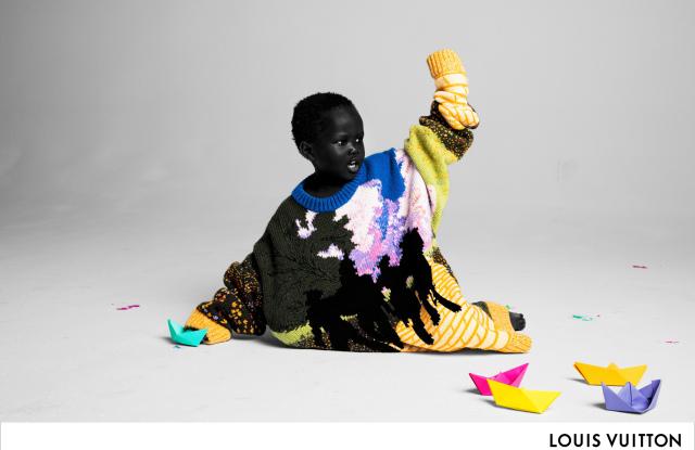 Virgil Abloh sin første Louis Vuitton-kampanje