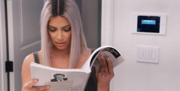 Kim Kardashian leser magasin