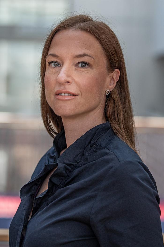 Cathrine von Ibenfeldt ved BI.
