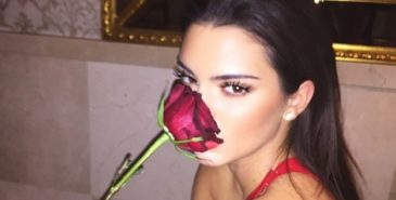 kendall jenner valentines day