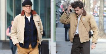 Daniel Day-Lewis og Brooklyn Beckham i Carhartt