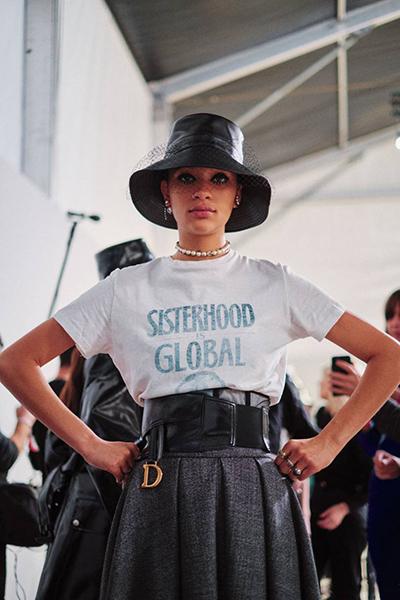 Feminisme står fremdeles sterkt hos sjefdesigner i Dior, Maria Grazia Chiuri