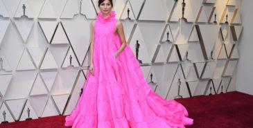 Gemma Chan under Oscar-utdelingen i 2019