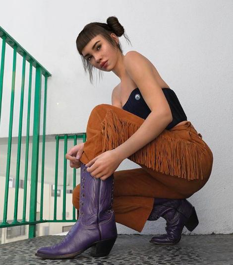 Den kunstige influenceren Miquela har over 1,5 millioner følgere på instagram. foto: @lilmiquela