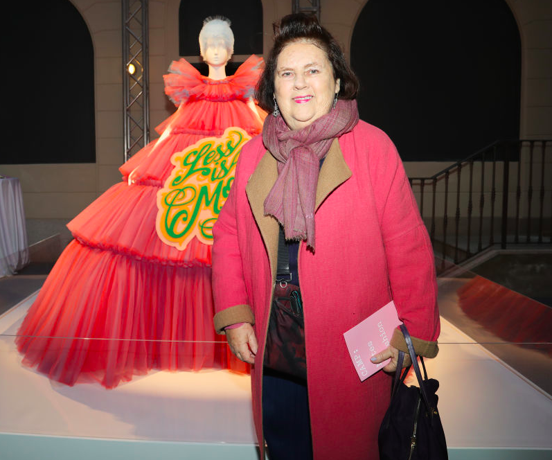 suzy menkes. foto: getty images
