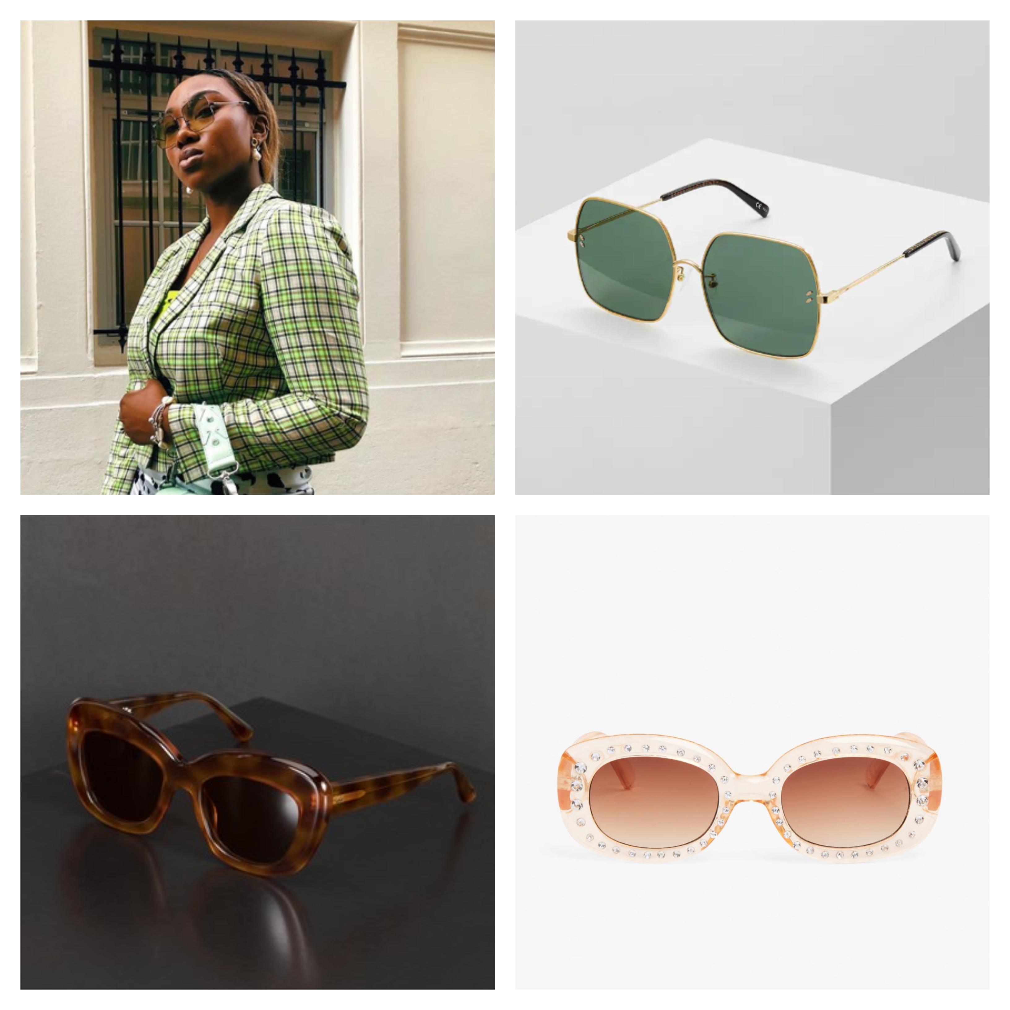 Bilde av noen av de mest trendy solbrillene denne våren