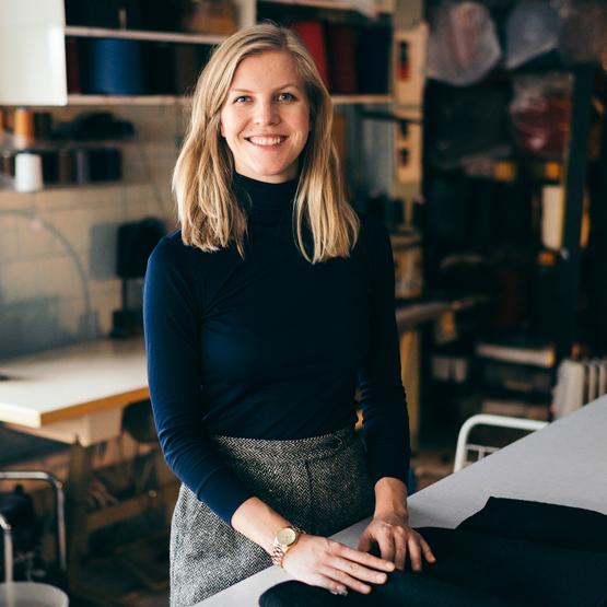 Elisabeth Stray Pedersen produserer ulldesign i Oslo