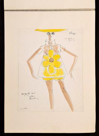 Karl Lagerfelds tegninger solgt på auksjon