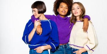 Kupong tilbyr håndstrikkede gensere av kvinner rundt omkring i Norge