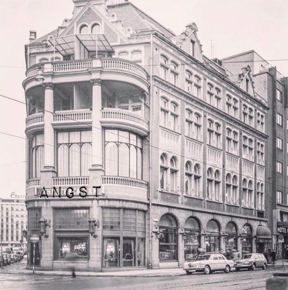angst tar over theatercaféen 13. april 2019. foto: instagram @angstbar