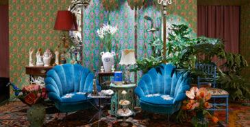 Gucci åpner midlertidig interiørbutikk i Milano