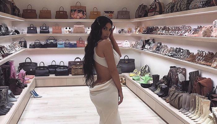 Kim Kardashian West kommer med sine tips til et ryddig klesskap