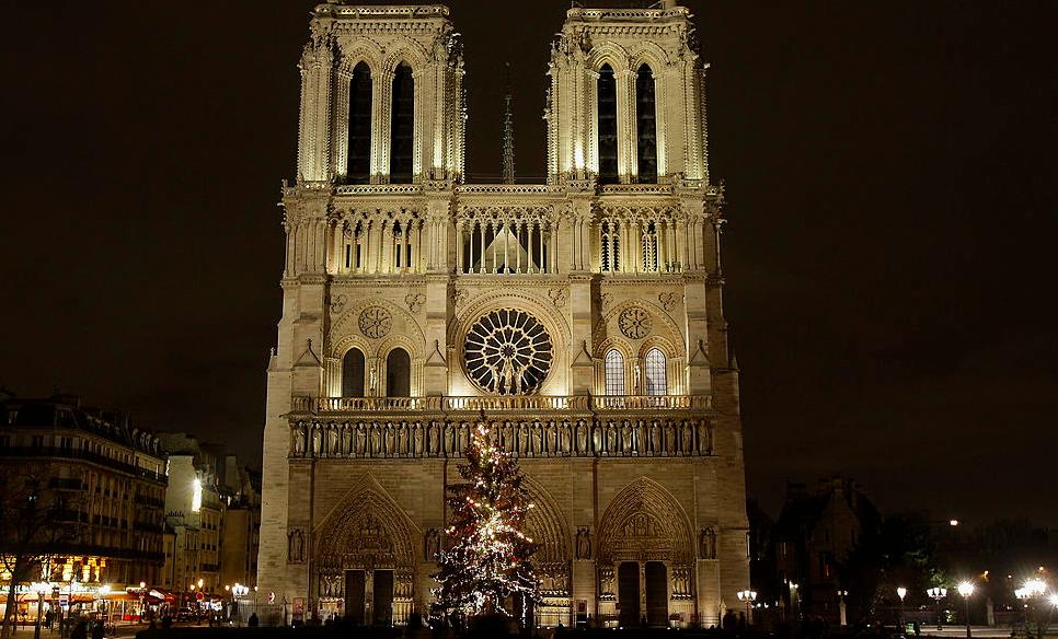 notre-dame i paris. foto getty images