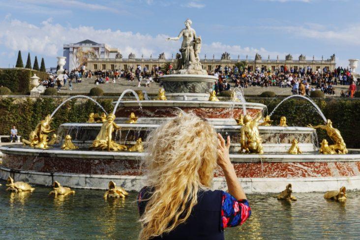versailles i paris. foto versailles