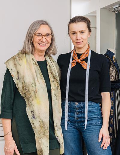 Eva og Marthe Lie designer fantasistakker