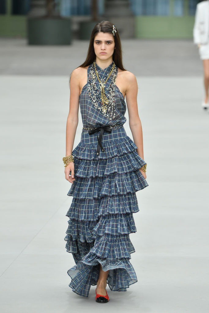 Chanel Cruise Collection 2020 : Runway At Grand Palais In Paris