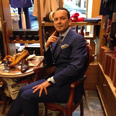 Gianluca Occhiuto driver Il Pantheon i Oslo