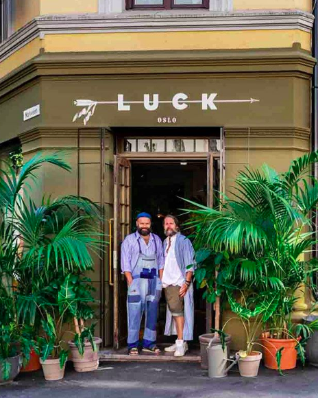 Luck Oslo. foto instgaram