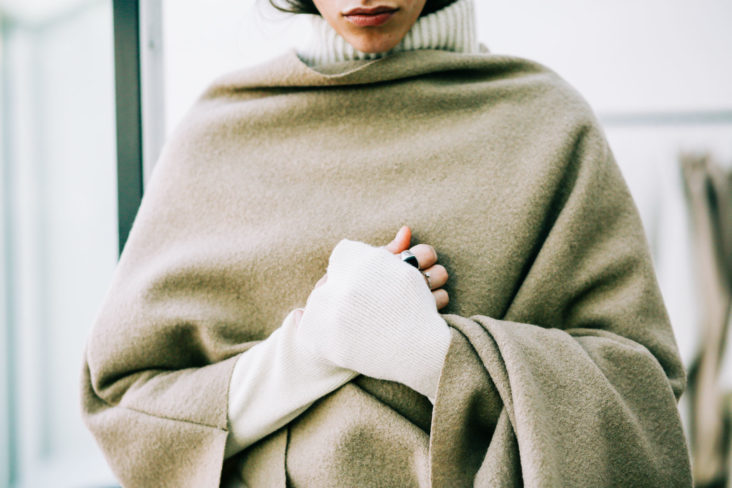 Svaldbard cape, Vienna knit