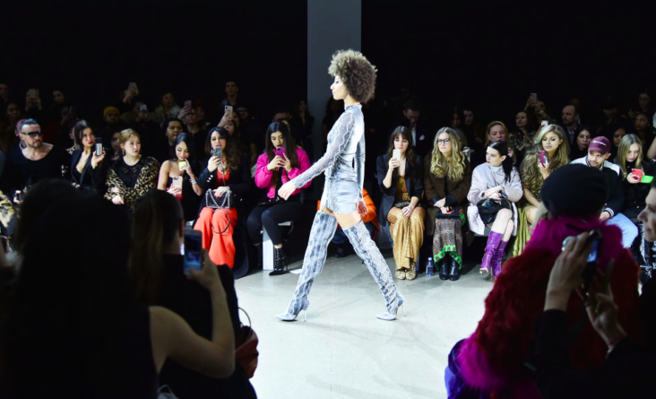 bilde fra new york fashion week. foto getty images