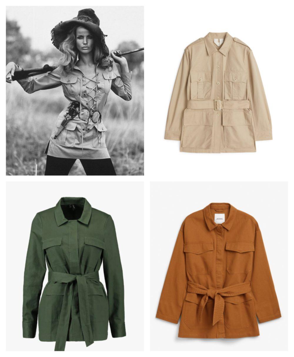 M&H toppliste: Trendy safari jakker Melk & Honning