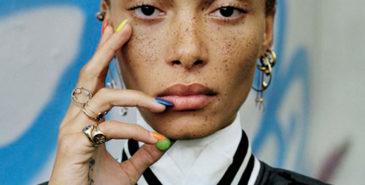 Adwoa Aboah i Vogue Italia