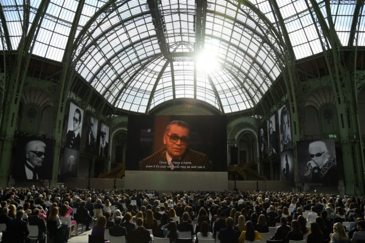 «Karl For Ever» At Le Grand Palais