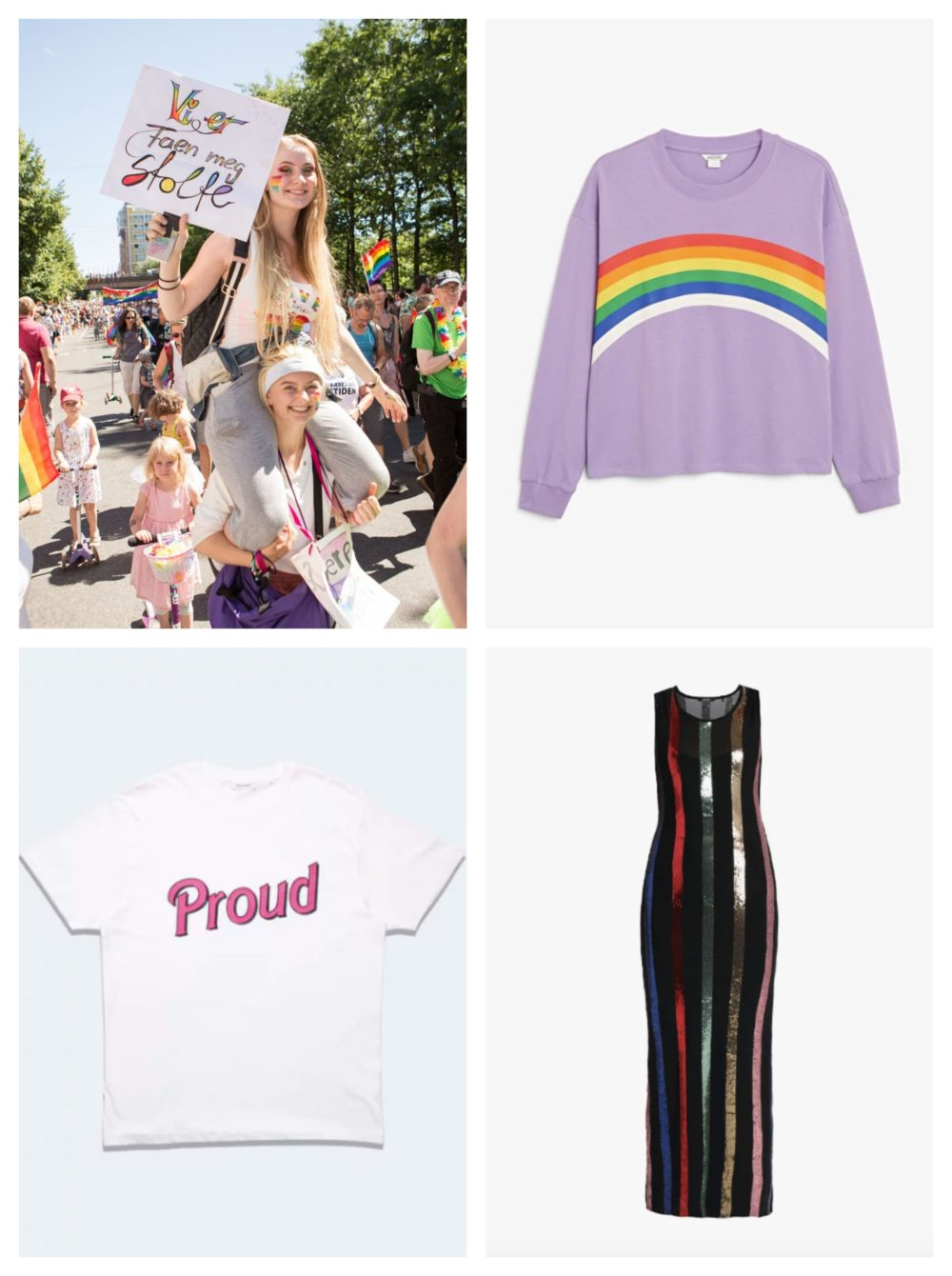 Lilla Oslo Pride T skjorte – Oslo Pride Butikk