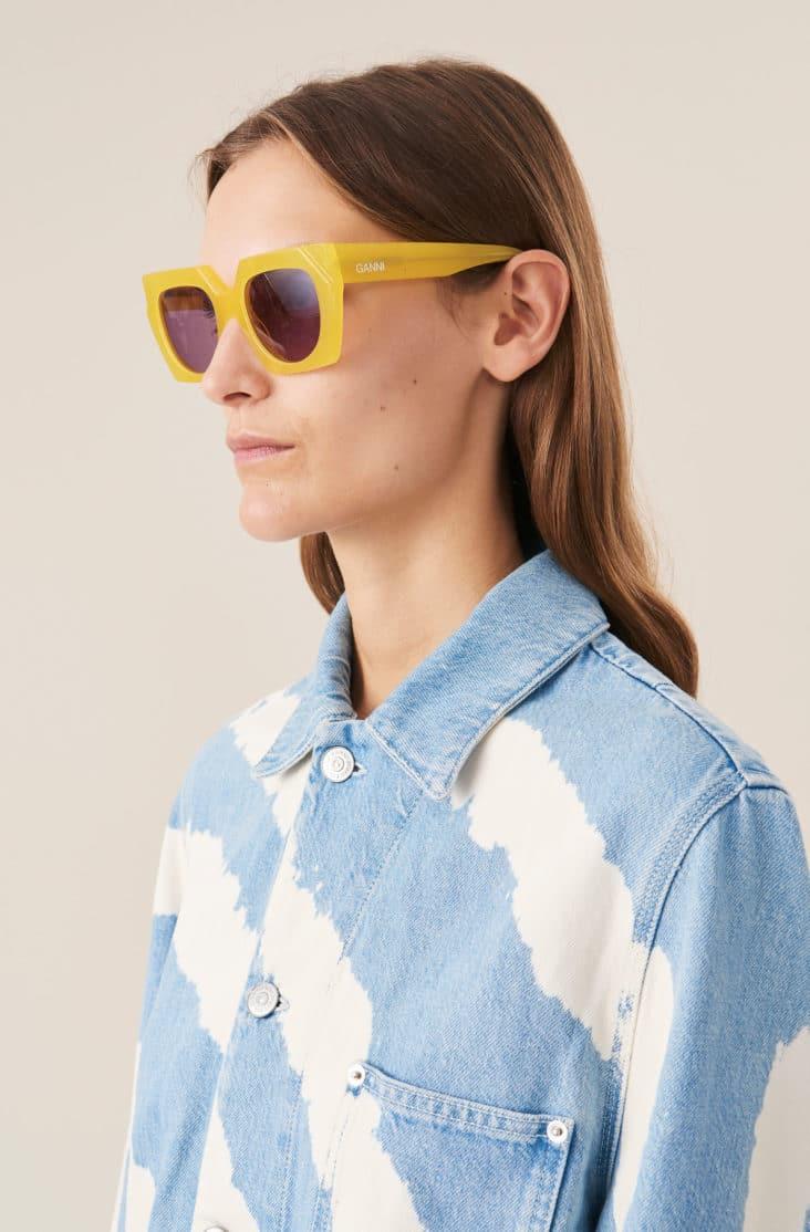 ganni-solbrille