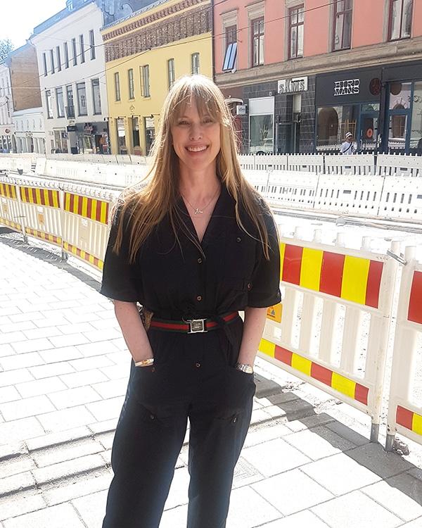 Åsa Formark driver Velouria Vintage på Grünerløkka