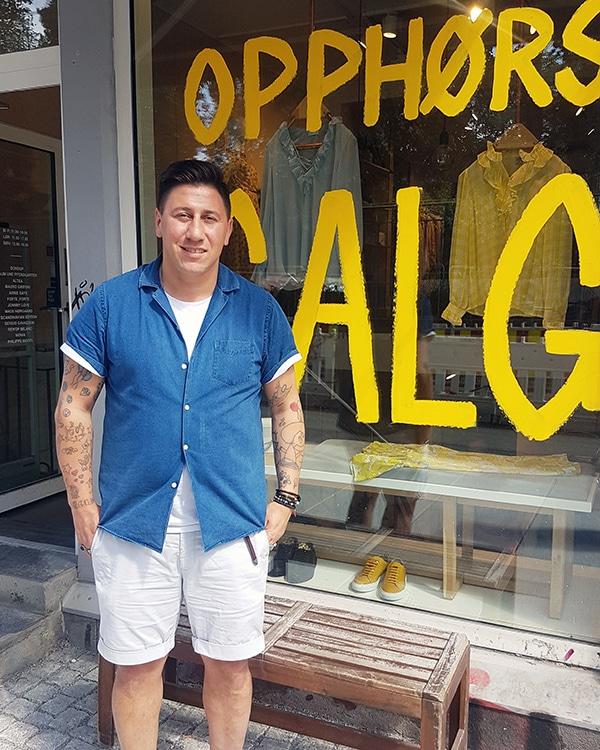 Pasquale Pipolo driver Insomnia på Grünerløkka