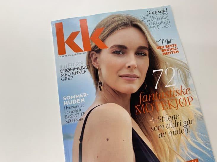 d8d6cf89 KKs nye magasinforside har en føflekk som blir større i direkte ...