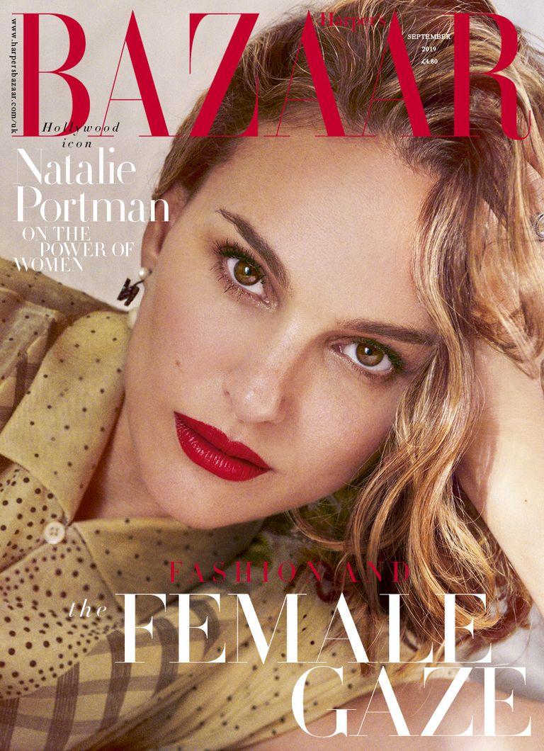 Natalie Portman i Harpers Bazaar