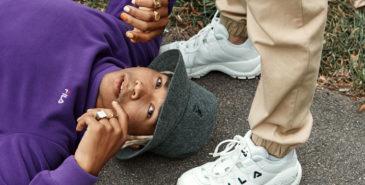 Fila slipper ny sneakers. Sjekk ut kampanjen i samarbeid med Urban