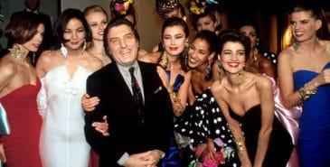 Emanuel Ungaro er død, 86 år gammel. Foto: via Vogue