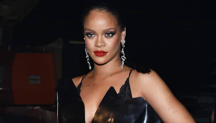 Rihanna nailer vinterens store trend. Foto Ilya S. Savenok / Stringer via Getty