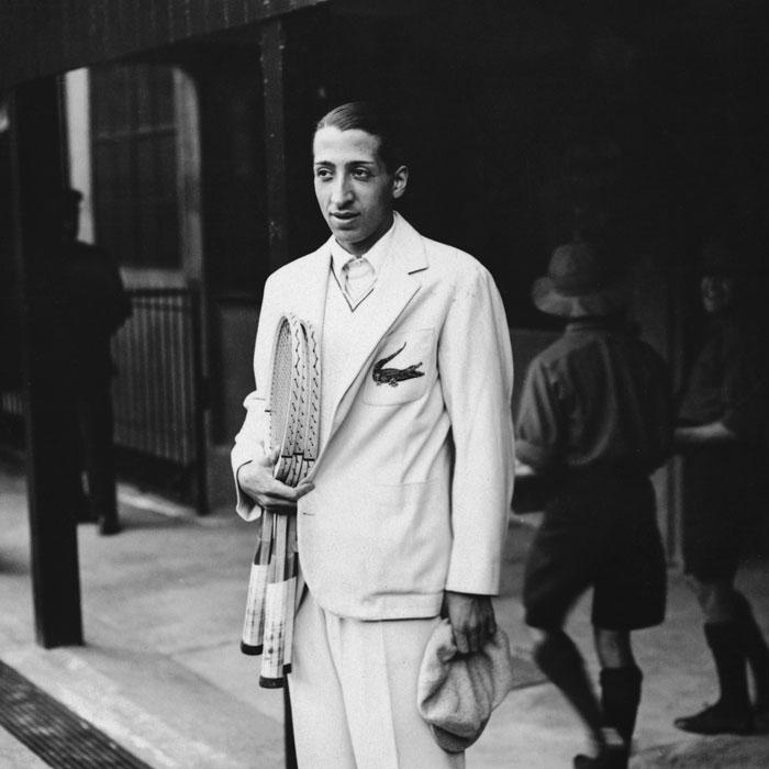 René Lacoste gjorde tennis til mote