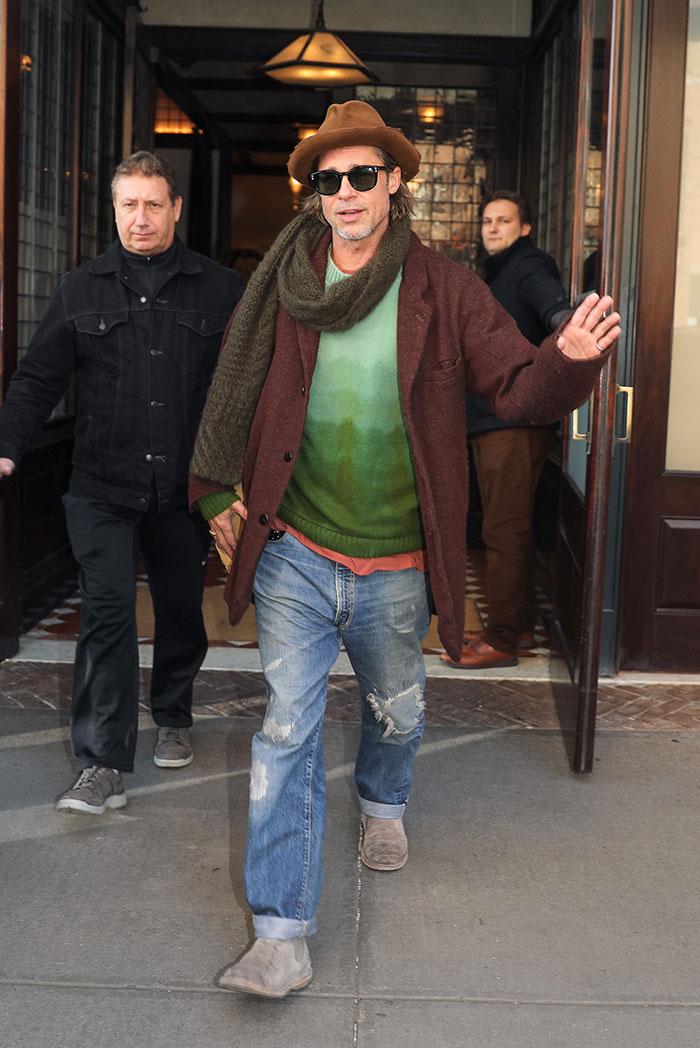 Er Brad Pitt det nye stilikonet?